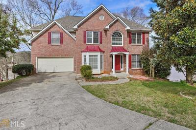 Suwanee Single Family Home For Sale: 1860 Richlake Ct