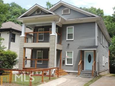 Old Fourth Ward Multi Family Home For Sale: 287 NE Mackenzie Dr
