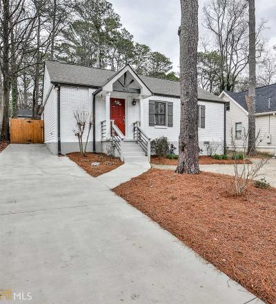 Decatur Single Family Home For Sale: 564 Daniel Ave