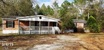 Statesboro Single Family Home For Sale: 832 W Waters Rd