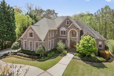 Marietta Single Family Home Under Contract: 639 Belmont Crest Dr