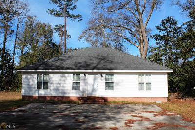 Statesboro Single Family Home For Sale: 223 Vista Cir #B