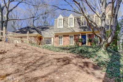 Atlanta Single Family Home Under Contract: 3019 Vinings Forest Way