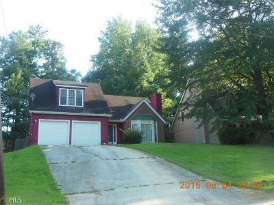Lithonia Single Family Home New: 5525 Marbut Rd