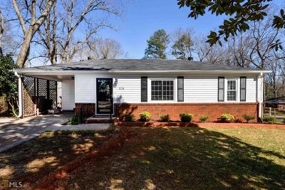 Mableton Single Family Home Under Contract: 658 SW Barnes Dr
