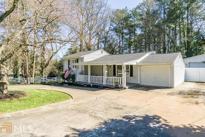 Smyrna Single Family Home Under Contract: 1950 Spring Road