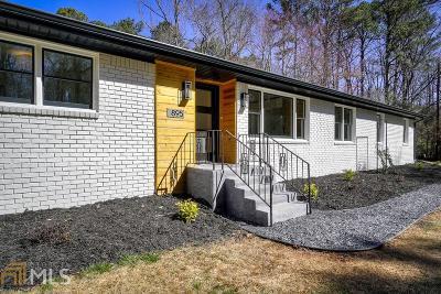 Roswell Single Family Home For Sale: 895 Jones Rd