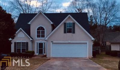 Fayetteville Single Family Home Under Contract: 110 Cannon Ct