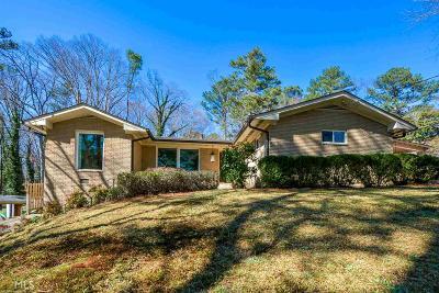 Atlanta Single Family Home Under Contract: 1522 Beechcliff Dr