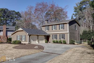 Chamblee Single Family Home For Sale: 1936 Gainsborough Dr