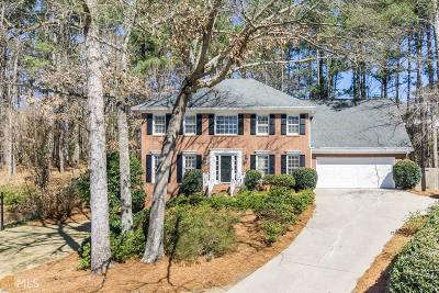Roswell Single Family Home Under Contract: 685 Wood Work Way