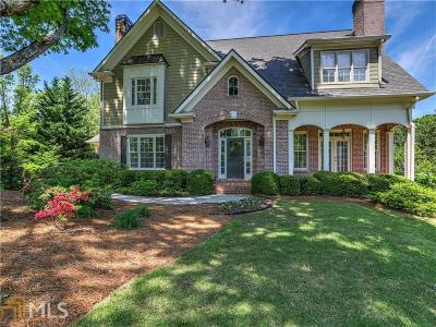 Marietta, Roswell Single Family Home For Sale: 3141 Hudson Pond Ln