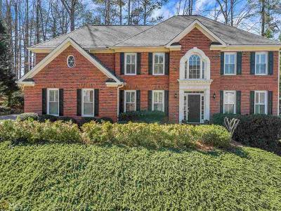 Alpharetta Single Family Home Under Contract: 5240 Deerlake
