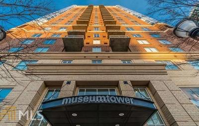 Museum Tower Condo/Townhouse New: 285 Centennial Olympic Pk Dr #1208