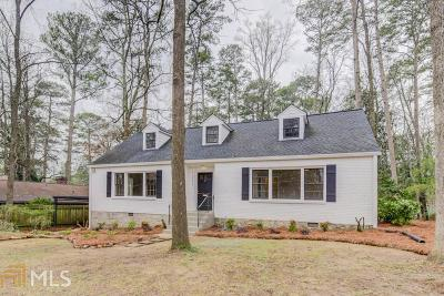 Decatur Single Family Home For Sale: 1221 Oldfield Rd