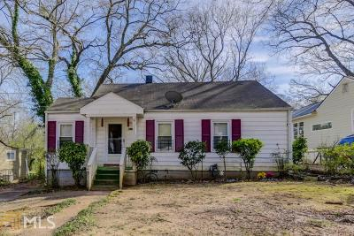 Decatur Single Family Home Under Contract: 2573 Eastwood Dr