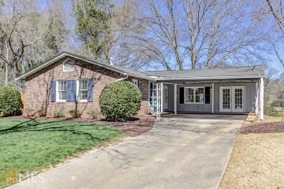 Smyrna Single Family Home Under Contract: 1799 SE Creat Trl