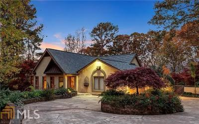 Roswell, Sandy Springs Single Family Home For Sale: 140 Habersham Waters Ct