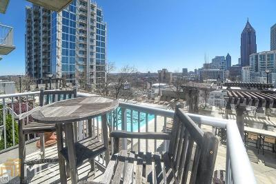 Condo/Townhouse New: 855 Peachtree St #1205