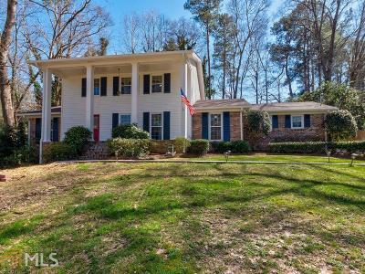 Atlanta Single Family Home New: 2062 Street Deville