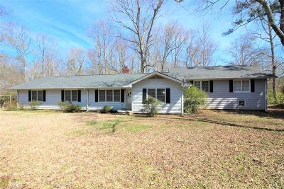 Coweta County Single Family Home Under Contract: 2855 Fischer Rd