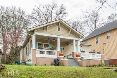 Peoplestown Single Family Home Under Contract: 41 Atlanta Ave