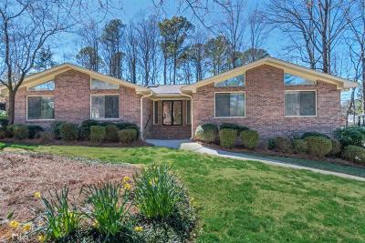 Atlanta Single Family Home New: 5402 Forest Springs Dr
