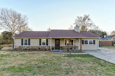 Braselton Single Family Home Under Contract: 415 Johnson