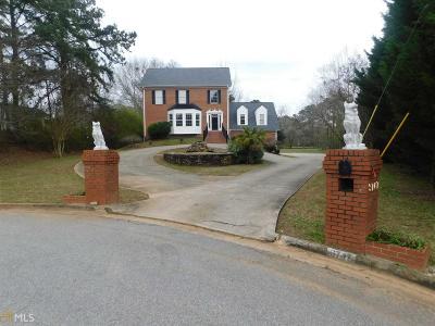 Ellenwood Single Family Home Under Contract: 3747 Meadow Glen Cir