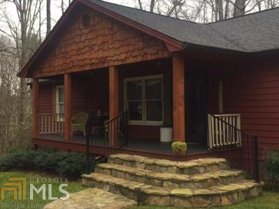 Dahlonega Single Family Home For Sale: 971 Porter Springs Rd