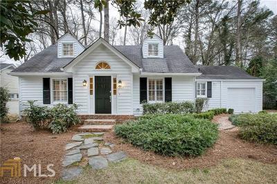 Atlanta Single Family Home New: 2523 Ridgewood Rd