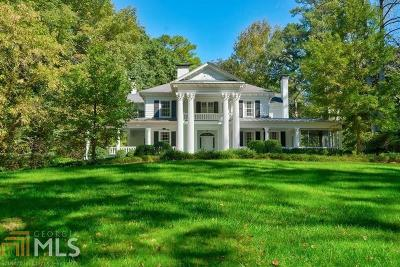 Buckhead Single Family Home For Sale: 2887 Howell Mill Rd