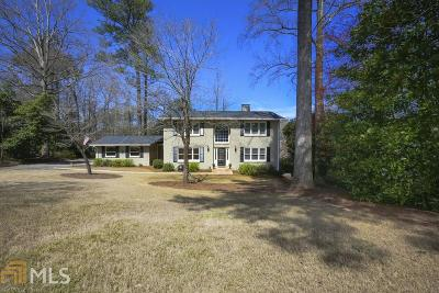 Atlanta Single Family Home Under Contract: 2808 Wendland Dr