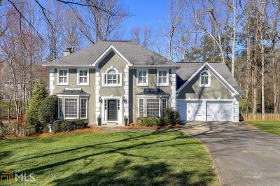 Roswell Single Family Home Under Contract: 160 Riding Trail Ct