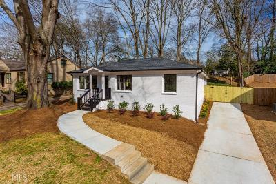 Decatur Single Family Home For Sale: 1172 North Carter Rd