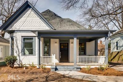 Atlanta Single Family Home New: 1063 Oak St