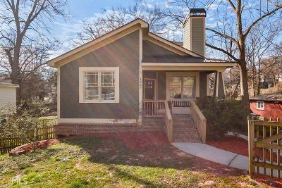 Atlanta Single Family Home New: 1237 Arkwright Pl