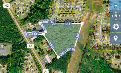 McDonough Residential Lots & Land New: Highway 42