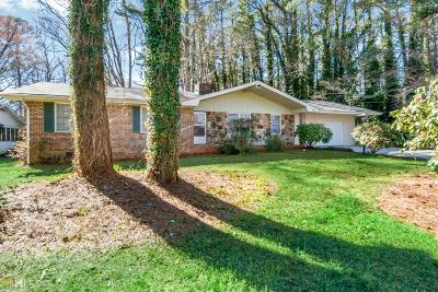 Stone Mountain Single Family Home For Sale: 1475 Rockbridge Rd