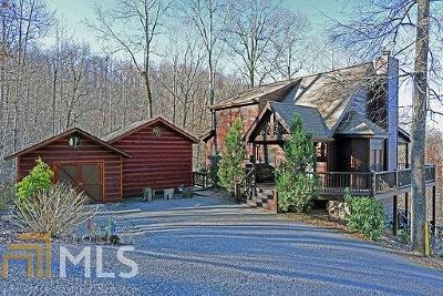 Hiawassee Single Family Home Under Contract: 7056 Hollow Tree Rd