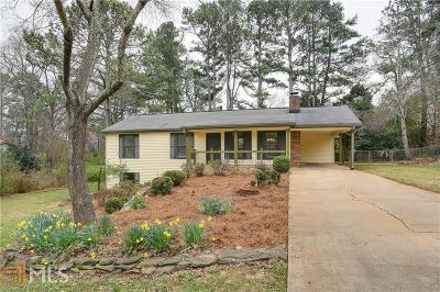 Alpharetta Single Family Home Under Contract: 460 Huntington Dr
