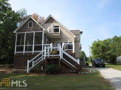 Milledgeville, Sparta, Eatonton Single Family Home New: 172 Landing Dr