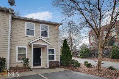 Roswell Condo/Townhouse Under Contract: 190 Blessing Way