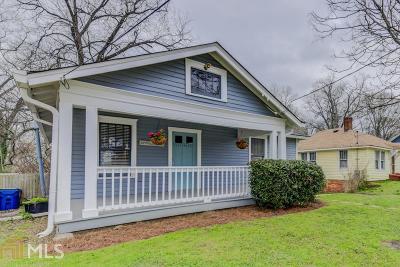 Atlanta Single Family Home New: 247 Stovall St