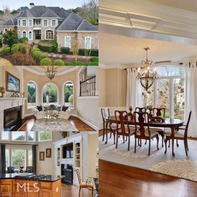 Alpharetta Single Family Home For Sale: 100 Club Falls Dr