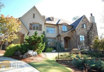 Suwanee Single Family Home New: 4865 Kettle River Pt