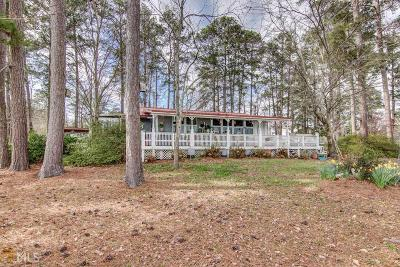 Butts County, Jasper County, Newton County Single Family Home Under Contract: 258 Strickland Pasture Rd