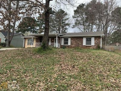 Conyers Single Family Home New: 1599 SW Cherry Hill Ct