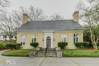 Buckhead Single Family Home Under Contract: 2990 Habersham Rd