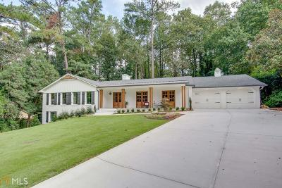 Sandy Springs Single Family Home Under Contract: 6175 Weatherly Dr